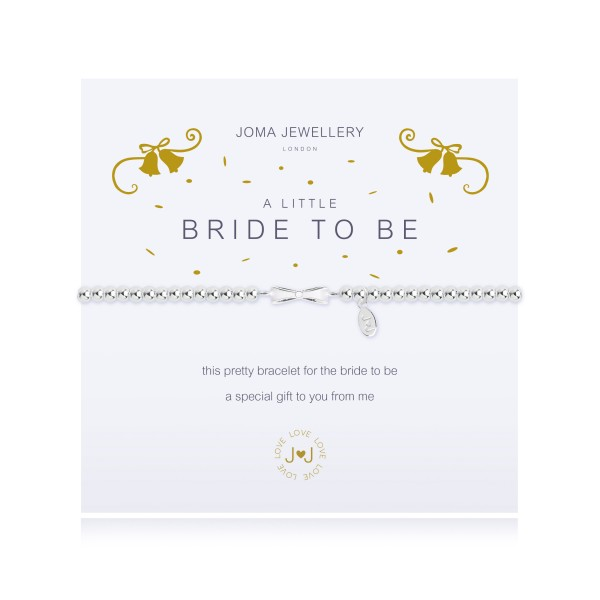 "Armband ""a little - Bride To Be"" von Joma Jewellery"
