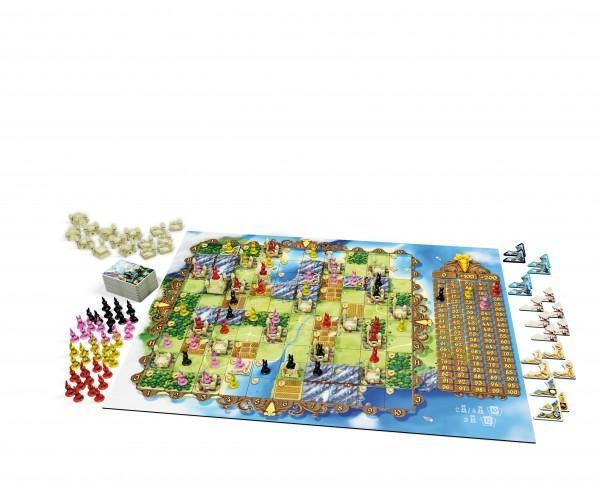 """Bunny Kingdom """"großer Spielplan"""" von iello"""