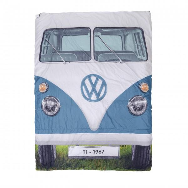 Doppelschlafsack - Blauer Bulli von Vento