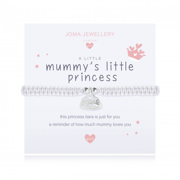 "Armband ""a little - Mummy's' Little Princess"" von Joma Jewellery-1"