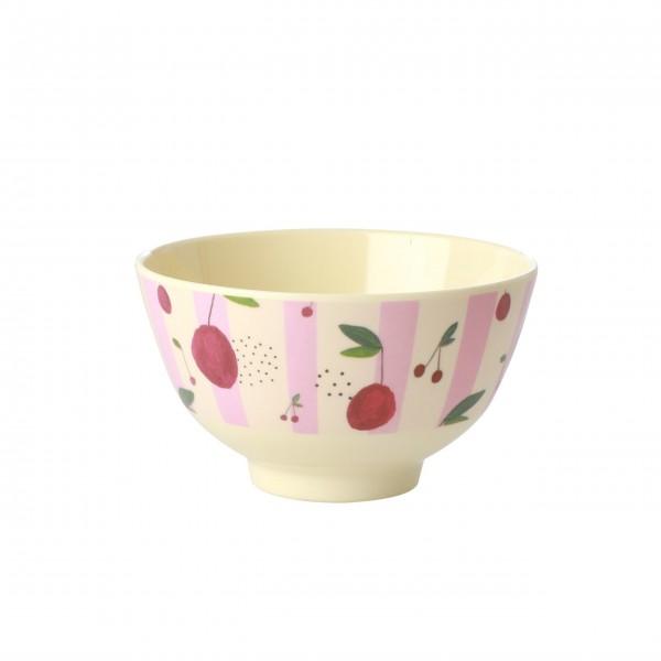 """Rice Melamin Schüssel """"Cherry"""" - Klein (Pink)"""