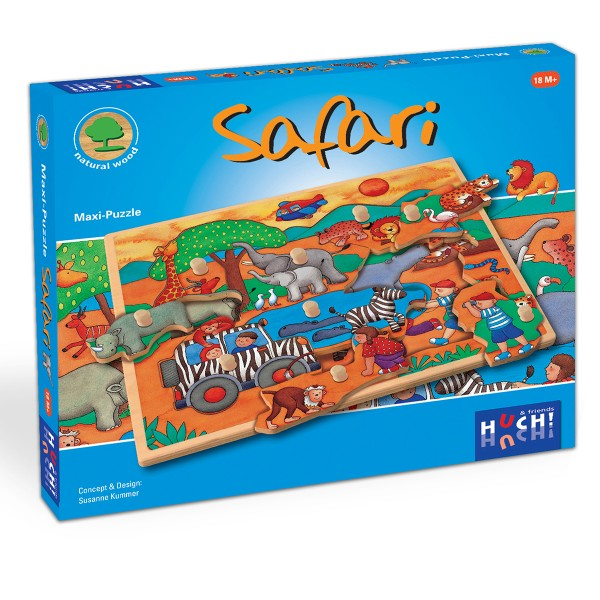 Tolles Maxi-Knopfpuzzle für Kleinkinder