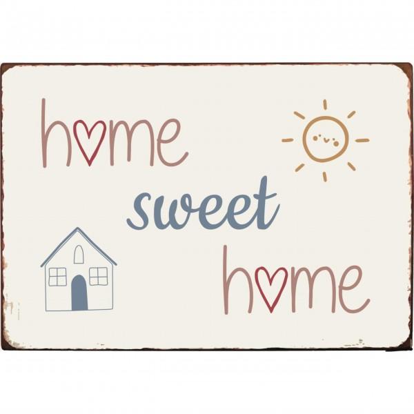 "Ib Laursen Metallschild ""Home Sweet Home"""