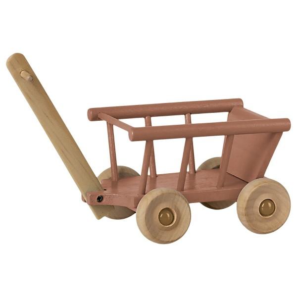 Maileg Maus Leiter-Wagen (Dusty Rose)