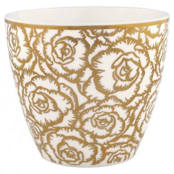 "Latte Cup ""Blossom"" (Gold) von Gate Noir by GreenGate"