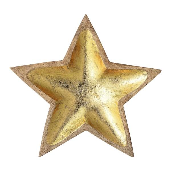 "Bloomingville Dekoschale ""Star"" (Gold)"