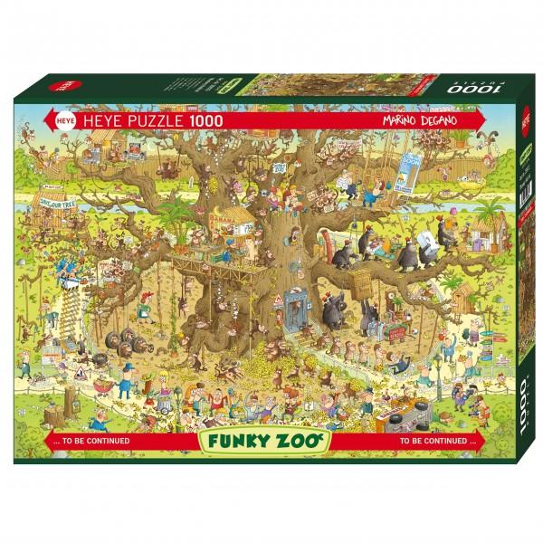 """Puzzle """"Monkey Habitat"""" von HEYE"""