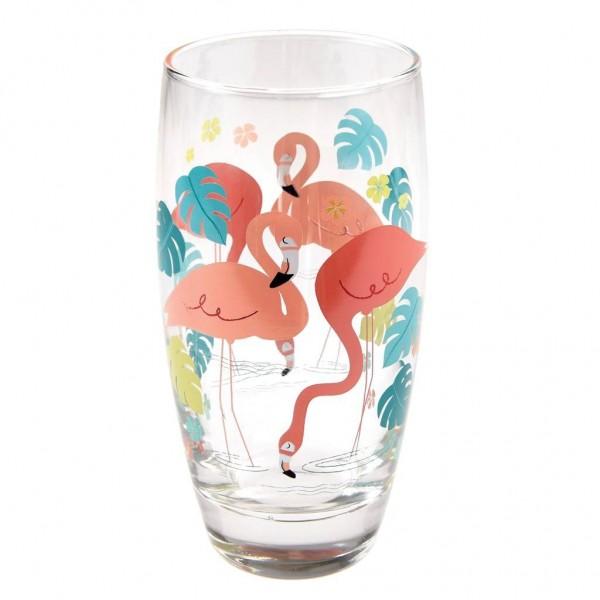"""Wasserglas """"Flamingo Bay"""" von Rex LONDON"""