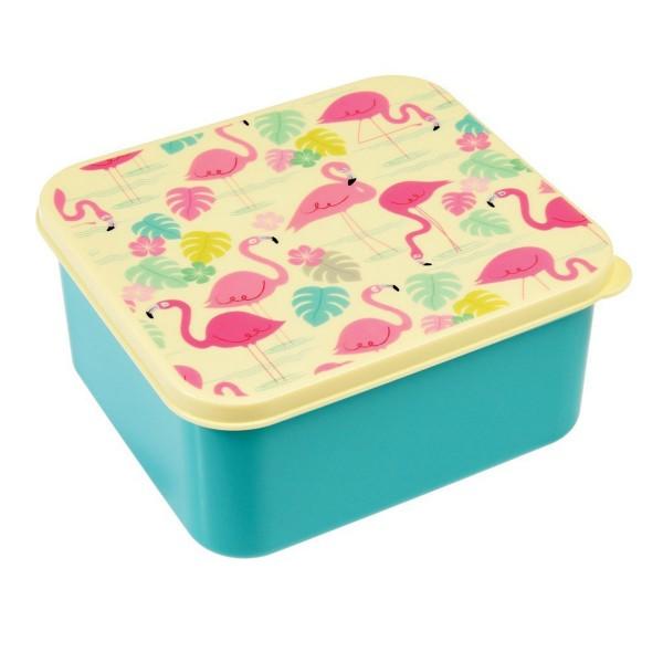 """Cooles Flamingo-Design für gute Laune in der Mittagspause - Lunchbox """"Flamingo Bay"""""""