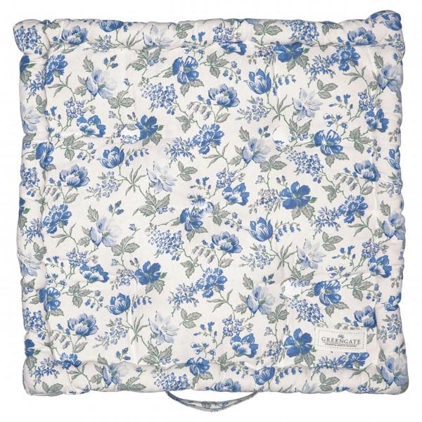 "GreenGate Sitzkissen ""Donna"" - 50x50cm (Blue)"