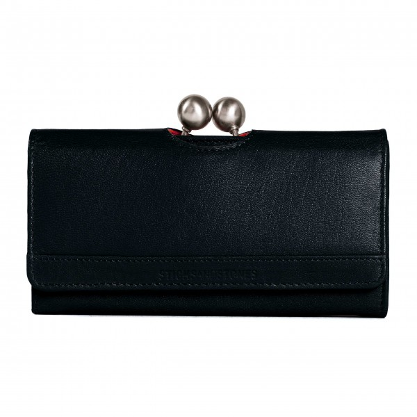 "Sticks and Stones ""Berlin Wallet Washed"" (Black)"