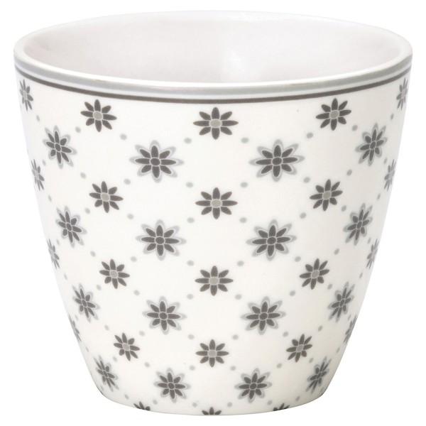 GreenGate Latte Cup mit Schneeflocken