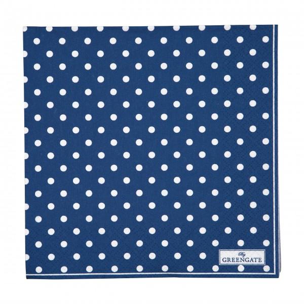 """GreenGate Papierservietten """"Spot"""" (Blau)"""