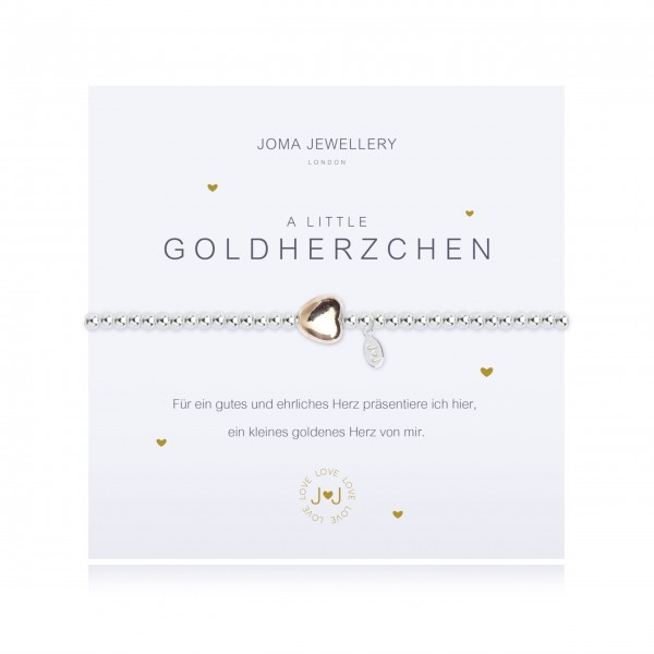 "Armband ""a little - Goldherzchen"" von Joma Jewellery"