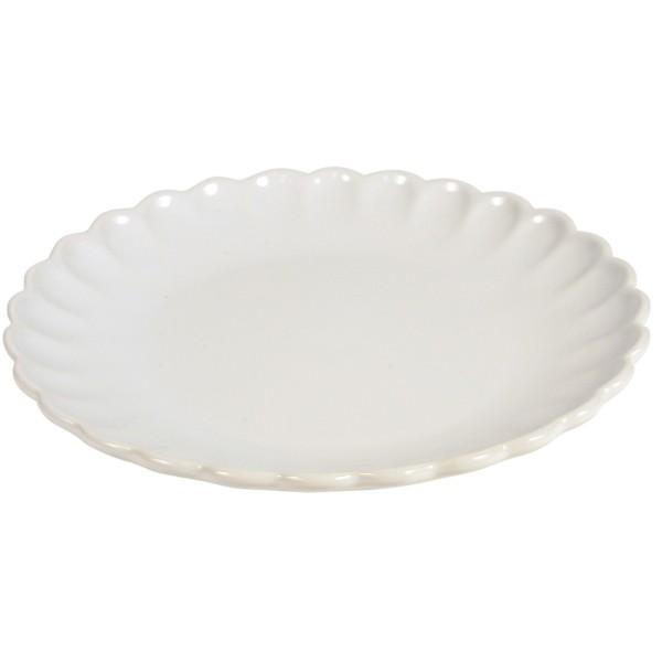 Ib Laursen Mynte Dessertteller in Weiß