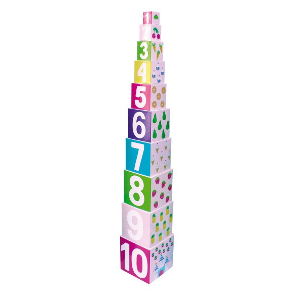 Kunterbunter Zahlenturm