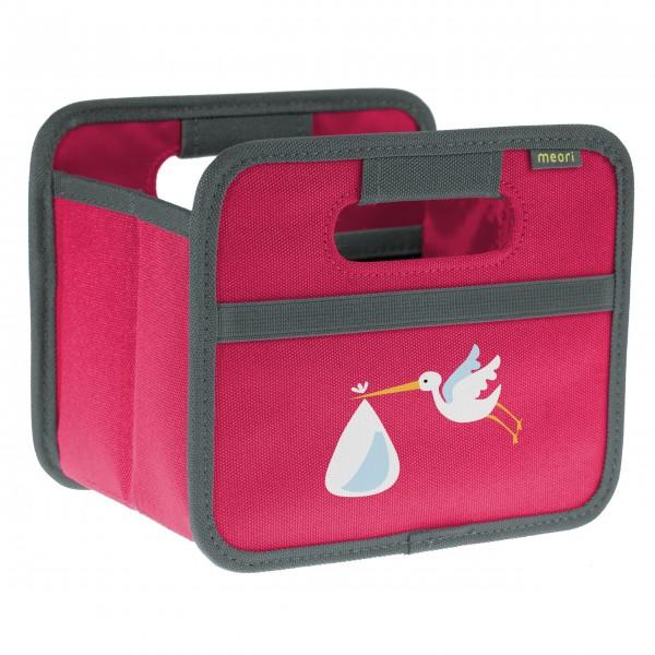 "meori Faltbox ""Berry Pink Stork"" - Mini"