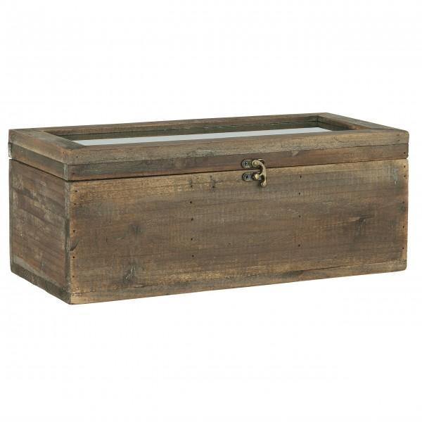 "Ib Laursen Kiste ""Glasdeckel"" mit 3 Fächern"