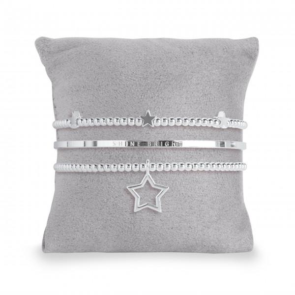 "Armband Set ""Happy Birthday"" - 3 tlg. von Joma Jewellery"