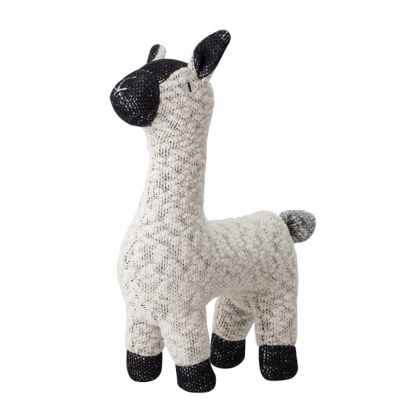 "Bloomingville Kuscheltier ""Lama"" (Weiß)"