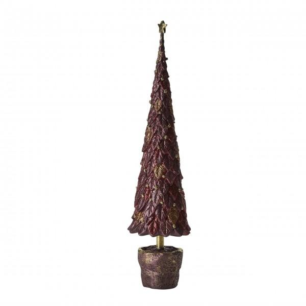 Weihnachtsbaum (Bordeauxrot) von Bahne