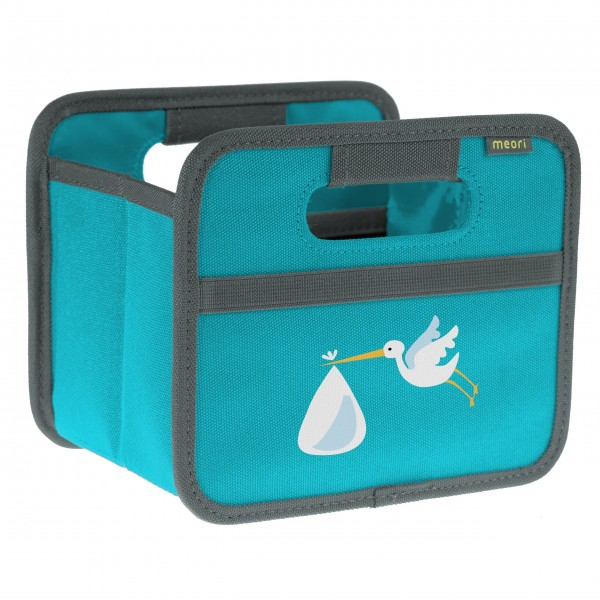 """meori Faltbox """"Azuree Blue Stork"""" - Mini"""