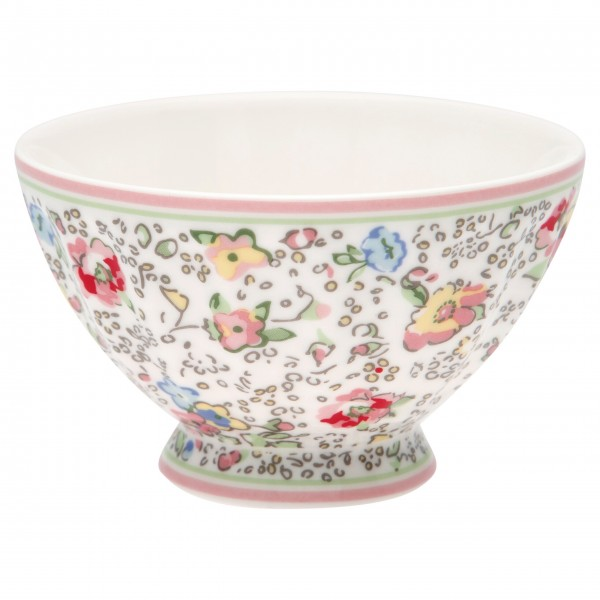 "GreenGate Kleine Schüssel - French bowl ""Vivianne"" (White)"