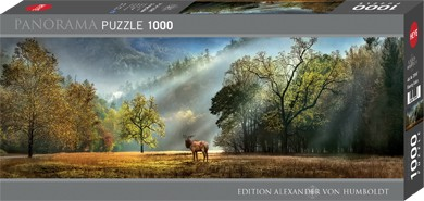 Puzzle Morning Salute Panorama 1000 Pieces