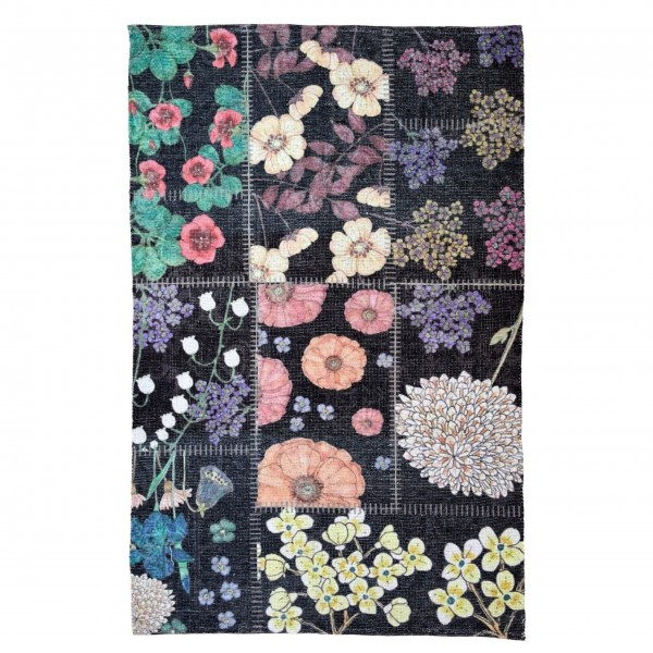 Rice Teppich mit Blumenmuster-1