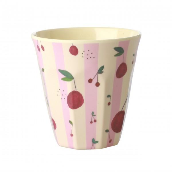 "Rice Melamin Becher ""Cherry"" - Medium (Pink)"