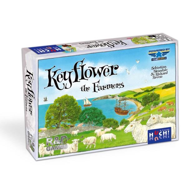 Gesellschaftsspiel Key Flower Farmers Erweiterung von HUCH!