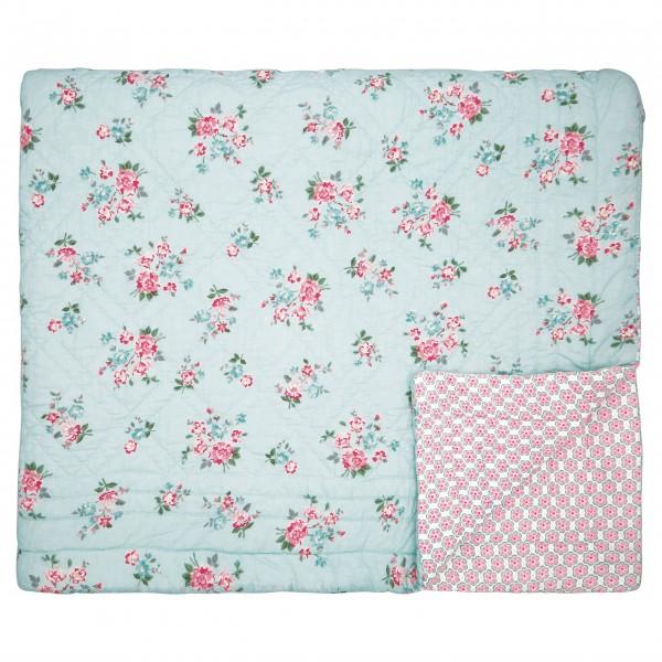 "GreenGate Quilt ""Sonia"" - 140x220cm (Pale Blue)"