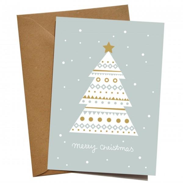 mimie&joe Weihnachtsbaum - Grußkarte