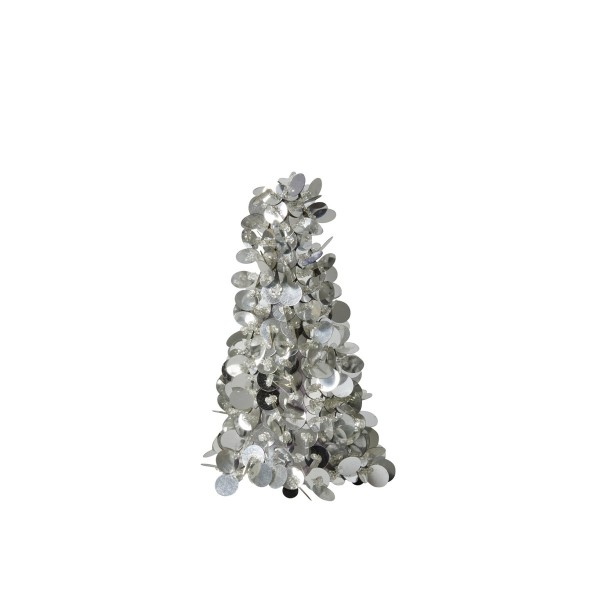 Schillernde Deko von Rice - Deko-Bäumchen in Silber