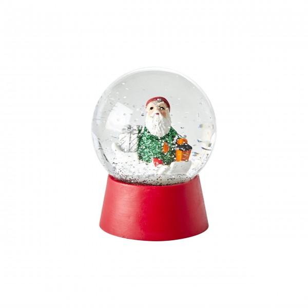 """rice Schneekugel """"Weihnachtsmann"""" (Rot)"""