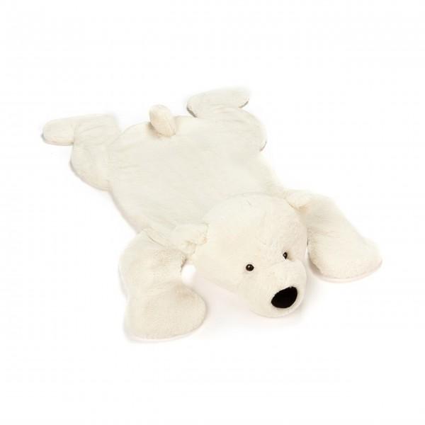 """Jellycat Spielmatte Eisbär """"Perry Polar"""" (Weiß)"""