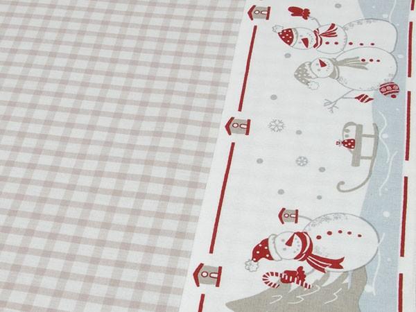 """Country Home Style Tischdecke """"Manni"""" (beige) 100x100cm"""