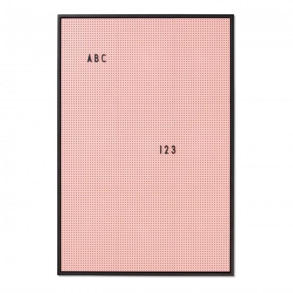 "DESIGN LETTERS Letterboard ""A4"" (Rosa)"