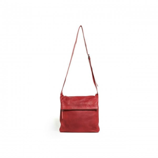 "Sticks and Stones Tasche ""Flap Bag"" (Red)"