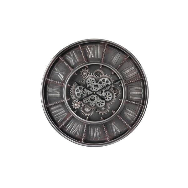 """Zahnraduhr """"BLACKPOOL"""" (Silber) - Durchmesser 60cm von SOMPEX"""