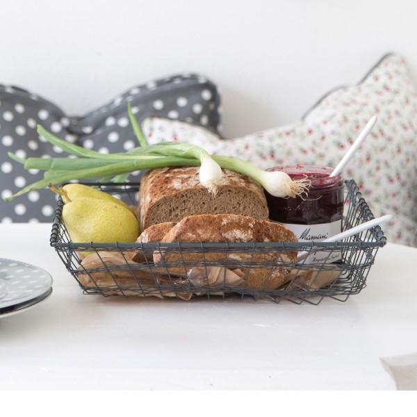 Drahtkorb für Brot und Co. - von Krasilnikoff