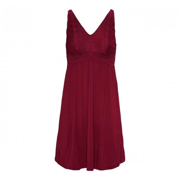 "Essenza Nachthemd ""Sarah Uni"" - XS (Rot)"