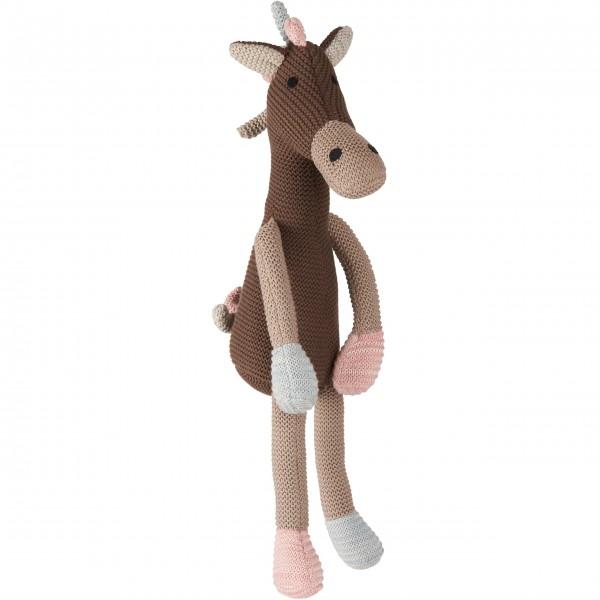 Herzlich: gestrickte Giraffe von Ib Laursen