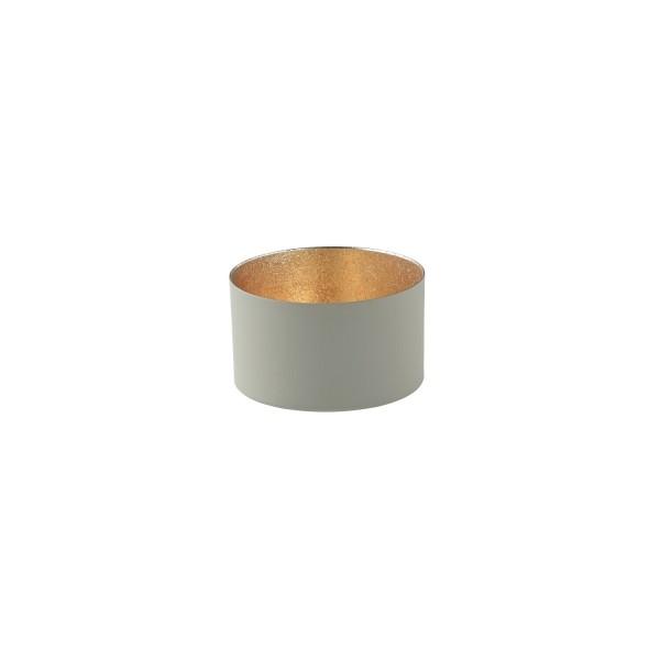 """Windlicht """"Chennai"""" - S (Grau/Gold) von Gift Company"""