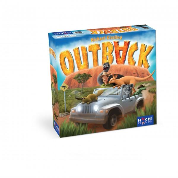 Gesellschaftsspiel Outback von HUCH!